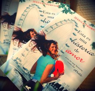 Spanish copies of This is a Love Story