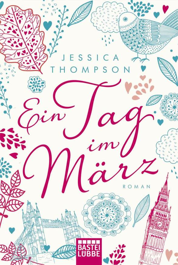 The German cover for Three Little Words