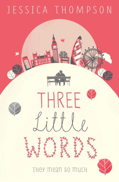 The final cover of Three Little Words